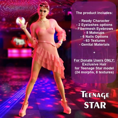 Teenage Star for G8F