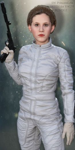 SW Princess Leia Hoth Bundle for V4G3F