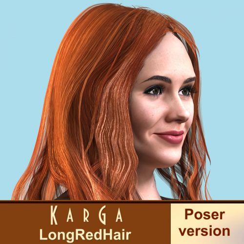 Karga LongRedHair for V4