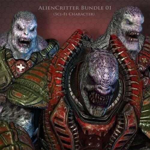 AlienCritter Bundle 01