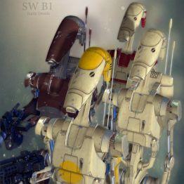 SW B1 Battle Droids