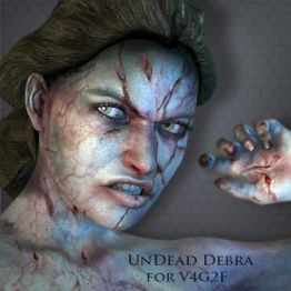 UnDead Debra for V4G2F