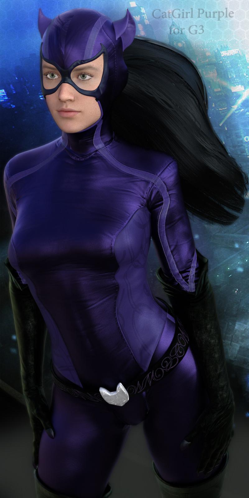 CatGirl Purple for G3