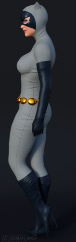 CatWoman GraySuit for G8F