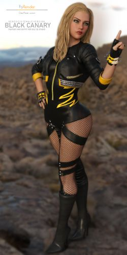 DC Black Canary for G8F