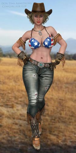 DOA Tina Armstrong CowGirl for G3F