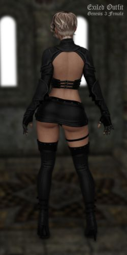 Exiled Outfit for G3F