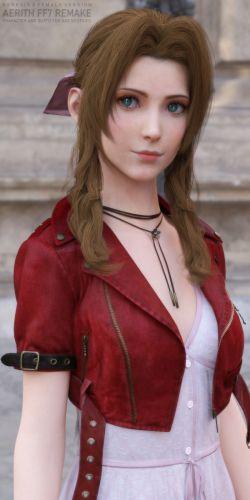 FF7 Aerith Remake for G8F