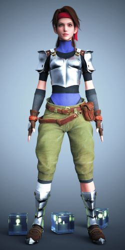 FF7 Jessie Rasberry Remake