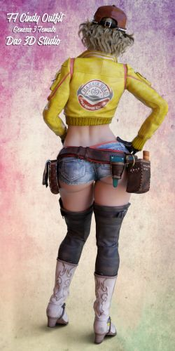 FF Cindy Outfit for G3F