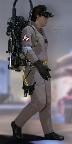 Ghostbusters Suit for G8