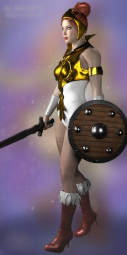 He-Man 80th Teela for V4