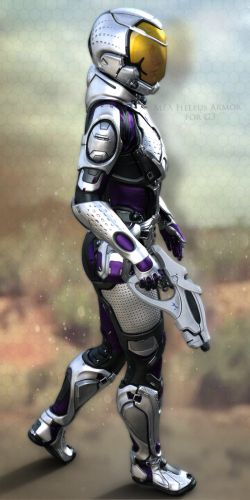 MEA Heleus Armor for G3