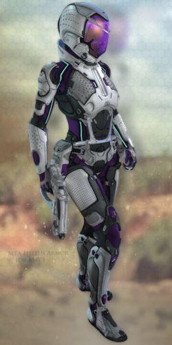 MEA Heleus Armor for M4V4