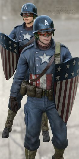 MV 1940s Ultimate CapAmerica for G8