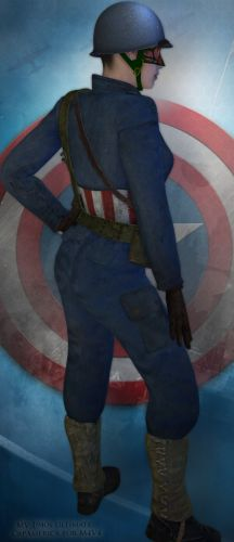MV 1940s Ultimate CapAmerica for M4V4