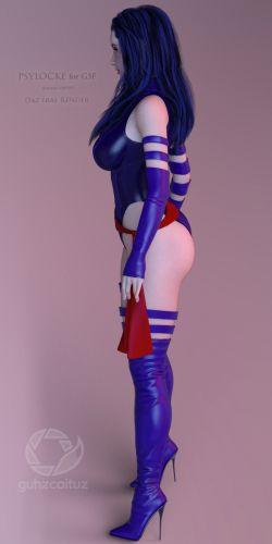MV Psylocke for G3F