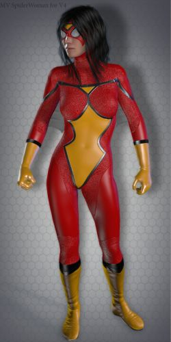 MV Spider Woman for V4
