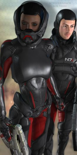 N7RyderArmor for V4M4