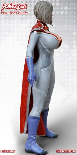 PowerGirl for G3F