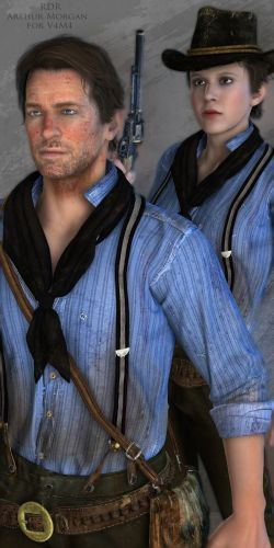 RDR ArthurMorgan for V4M4