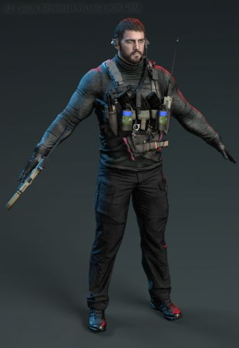 RE Chris Redfield Village for G8M