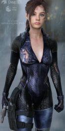 RE Claire BattleSuit for V4G8F