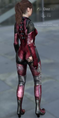 RE Claire BattleSuit for V4G8F