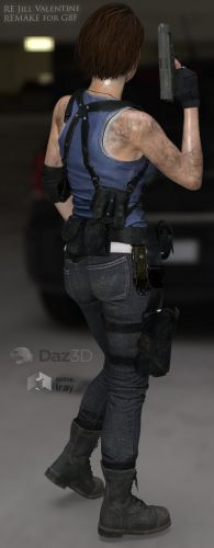 RE Jill Valentine Remake for G8F