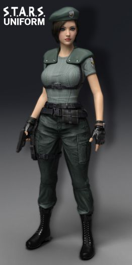 RE STARS Uniform Jill Valentine for G3F