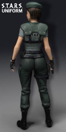 RE STARS Uniform Jill Valentine for G3F