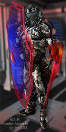 Combat Armor 01 for M4G2M
