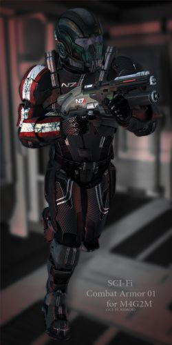 Combat Armor Bundle 01 for V4M4G2