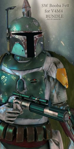SW BoobaFett Bundle for V4M4