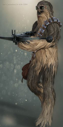 SW Chewbacca for G8M