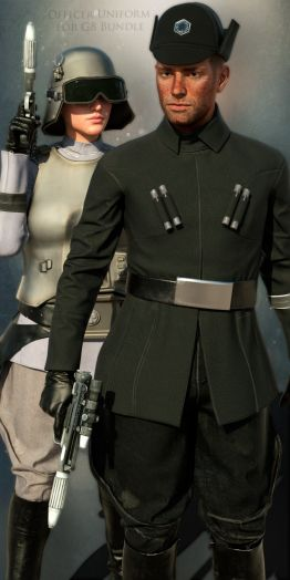 SW Officer Uniform for G8 Bundle
