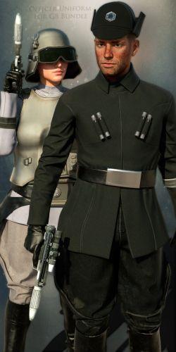 SW Officer Uniform for G8 Bundle