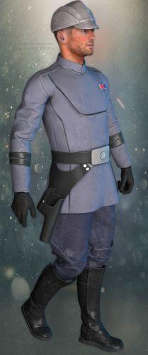SW Officer Uniform for M4V4 Bundle