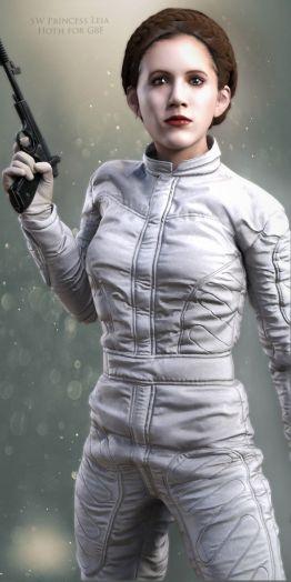 SW Princess Leia Hoth for G8F