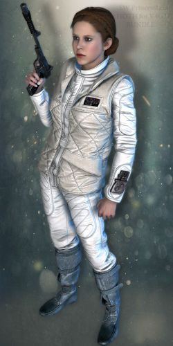 SW Princess Leia Hoth Bundle for V4G3F
