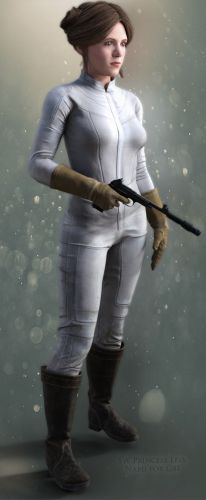 SW Princess Leia Nabu for G8F