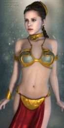 SW Princess Leia Slave Bundle for V4G3F