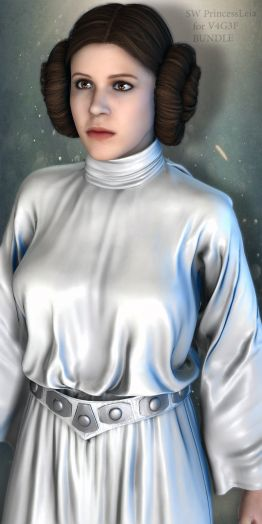 SW Princess Leia Bundle for V4G3F