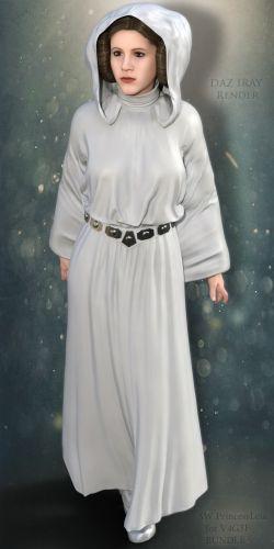 SW Princess Leia for V4G3F