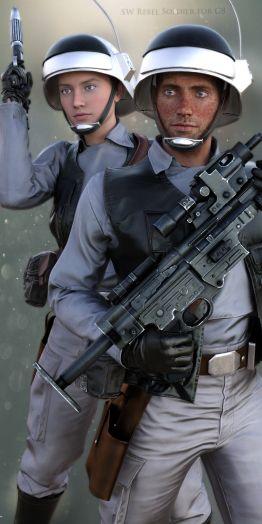 SW Rebel Soldier for G8