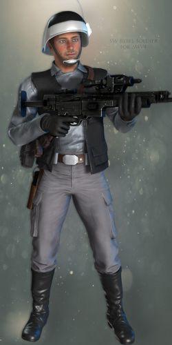 SW Rebel Soldier for M4V4