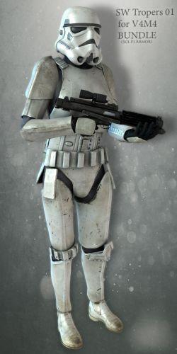 SW Troopers Bundle 01 for V4M4