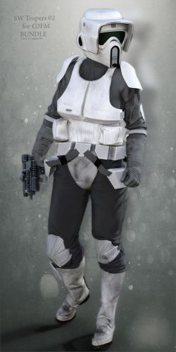 SW Troopers Bundle 02 for G3