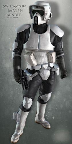 SW Troopers Bundle 02 for V4M4