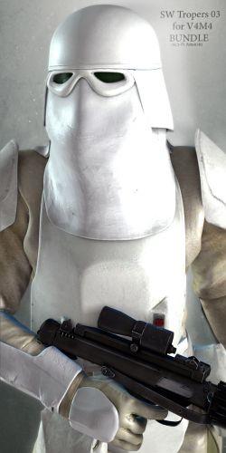 SW Troopers Bundle 03 for V4M4